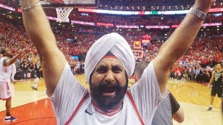 Raptors superfan Nav Bhatia to get 'louder' in NBA Finals
