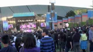 K-pop girls generation shoreline amphitheatre Mountain View CA USA