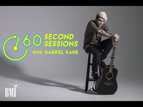 Gabriel Kane Talks Songwriting, Coffee and Sam Smith | 60 Second Sessions