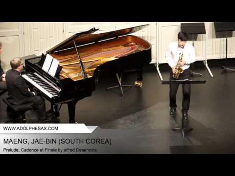 Dinant 2014 - Maeng, Jae-Bin -Prelude, Cadence et Finale by Alfred Desenclos
