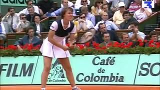 Martina Hingis vs Monica Seles 1997 RG Highlights