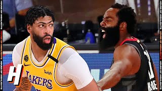 Los Angeles Lakers vs Houston Rockets - Full Game Highlights   August 6, 2020   2019-20 NBA Season