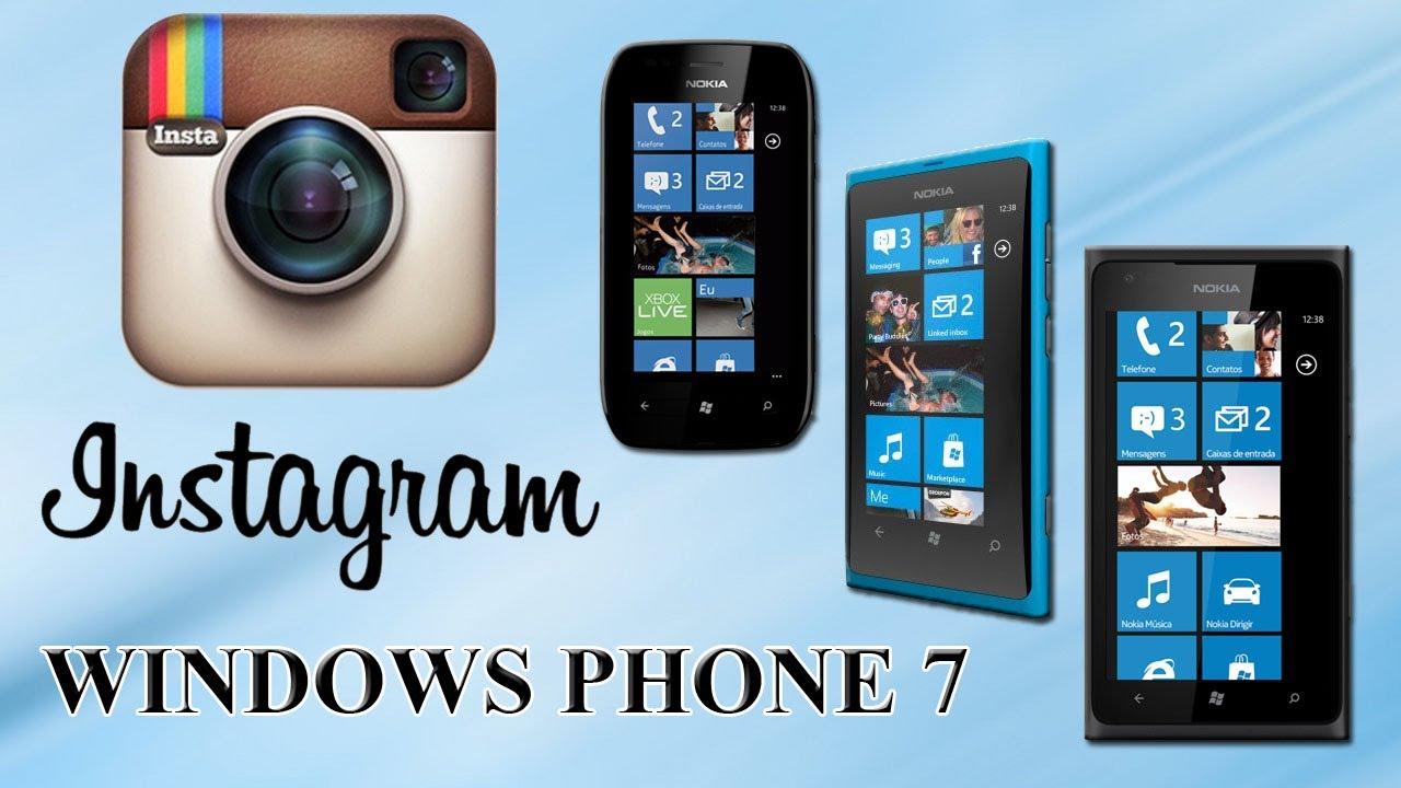 Instagram beta для nokia lumia 510.