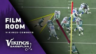 Film Room: Breaking Down Dallas Cowboys' Playmakers on Both Sides of the Ball | Minnesota Vikings
