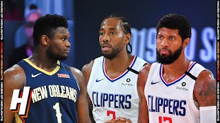 New Orleans Pelicans vs Los Angeles Clippers - Full  Highlights | August 1 | 2019-20 NBA Season