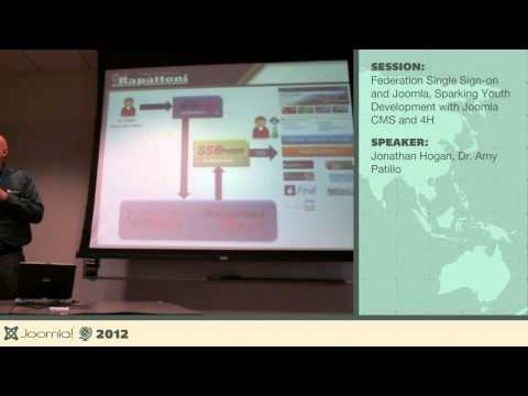 Federation, Single Sign-on, Sparking Youth Development - Jonathan Hogan, Dr. Amy Patillo