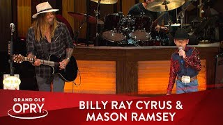 """Billy Ray Cyrus & Mason Ramsey - """"Old Town Road"""" 