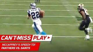 Christian McCaffrey Outruns Everyone for the TD! | Can't-Miss Play | NFL Wild Card Highlights