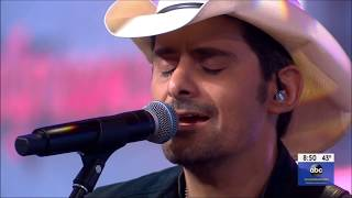 "Brad Paisley sings ""My Miracle"" Live on Today Show Concert April 4, 2019 HD 1080p"
