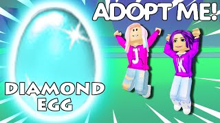 We Hatched a DIAMOND EGG 💎🥚 / Roblox: Adopt Me