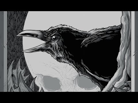 "Seventh.Ink ""Nevermore"" Illustration Time Lapse"