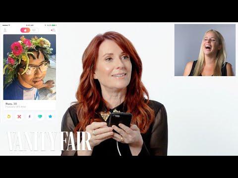 Megan Mullally Hijacks A Stranger's Tinder | Vanity Fair