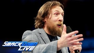 Daniel Bryan thanks the WWE Universe after being cleared to compete: SmackDown LIVE, March 20, 2018