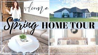 SPRING HOME TOUR 2019 | FARMHOUSE GLAM DECOR | ENTIRE HOUSE TOUR