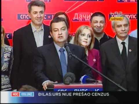 Dačić: Zna se ko će biti premijer