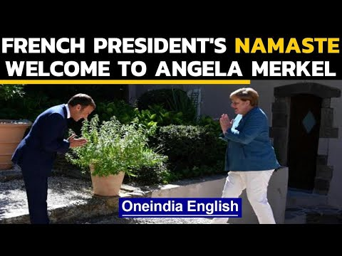 Namaste goes global: French President greets German Chancellor with Namaste
