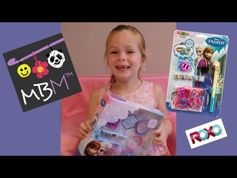 Disney Frozen Rainbow Loom Roxo Charm Bracelet Kit Review