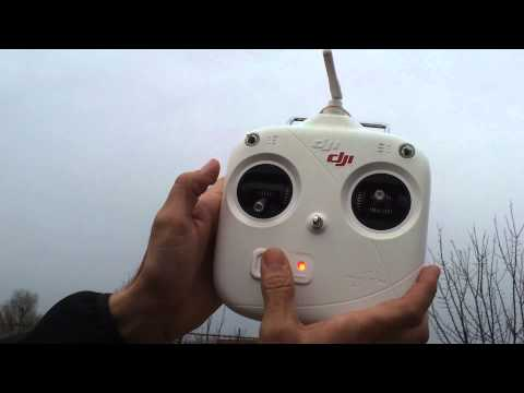 DJI Phantom -Important ! How to take control in air after Fail-Safe
