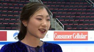 WATCH: Interview with U.S. figure skate Mirai Nagasu in Detroit