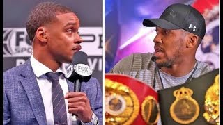 "ERROL SPENCE ""DEONTAY WILDER WILL KO ANTHONY JOSHUA """
