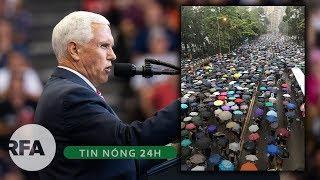 Tin nóng 24H | Hoa Kỳ tiếp tục cảnh báo Trung Quốc về tình hình Hong Kong