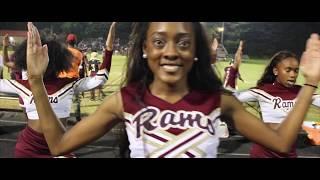 Cheerleaders: The Harding Rams at Home!