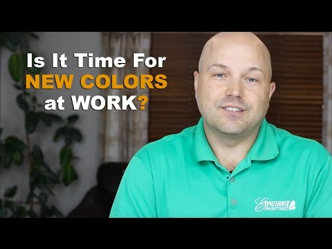 Is It Time For New Colors At Work?