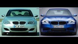 BMW M5 e60 V10 vs BMW M5 F10 V8 Biturbo - Which one do you prefer? (in HD!)