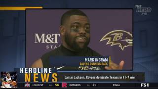 Colin Cowherd Fretted Lamar Jackson, Ravens dominate Texans in 41-7 win | The Herd