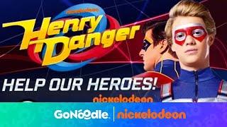 Henry Danger: Help Our Heroes   Nickelodeon   GoNoodle