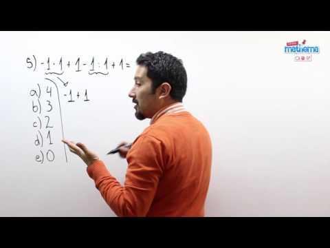 Prueba de números enteros 5