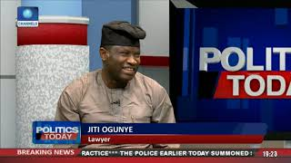 Ogunye Dissects Legal Implication Behind Adeleke's Certificate Saga Pt.2 |Politics Today|