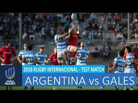 Gales vs Argentina