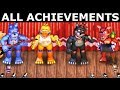 FNAF 6 - How To Get All The Band Achievements (Freddy Fazbear's Pizzeria Simulator)