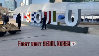 FIRST TIME IN SEOUL KOREA MONTAGE VLOG