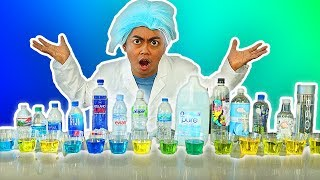 Which Bottled Water Is The Best For Your Health? WATER TASTE TEST