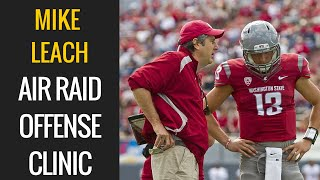 Mike Leach - Air Raid Offense Clinic