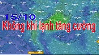 Dự báo thời tiết 13/10 : Hà Nội se lạnh Sài gòn nắng nóng