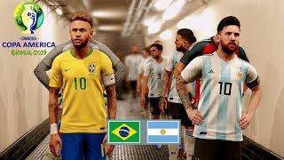 COPA AMERICA 2020 FINAL- Argentina vs Brazil