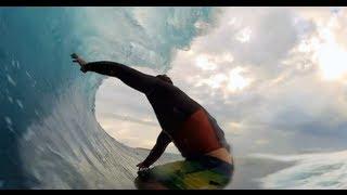 Surfer dans le tunnel