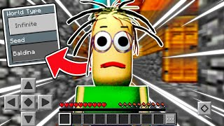 PLAYING on The BALDINA SEED in Minecraft Pocket Edition