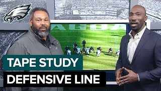Tape Study: Chris Wilson Analyzes the Defensive Line | Eagles Game Plan
