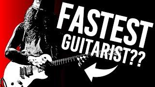 Is Buckethead the Fastest Guitarist?