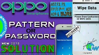 OPPO all |PATTERN & PASSWORD UNLOCK Solution |new 2017