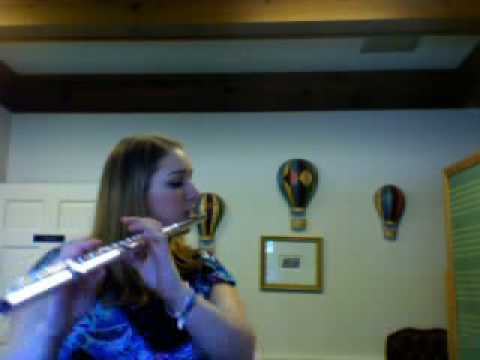 Pink Panther on flute (Cover by Cassie Lees)