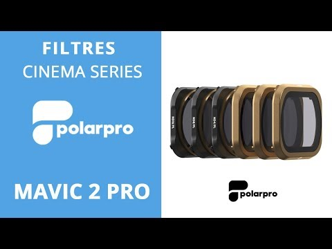 video Filtres ND Polarpro SHUTTER Collection – MAVIC 2 Pro