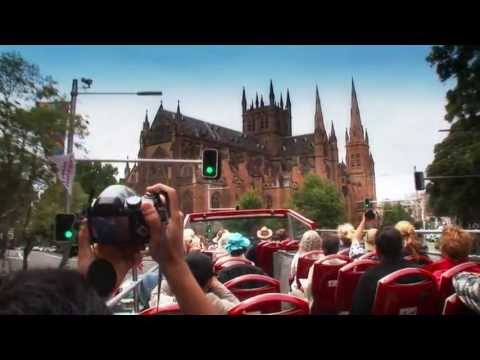 video Sydney Hop On Hop Off Bus
