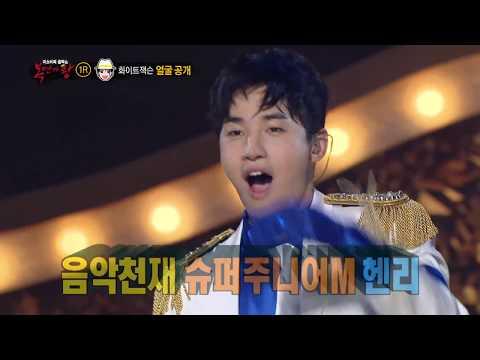 【TVPP】Henry(Super Junior) - Because your my woman, 헨리(슈퍼주니어) - 내 여자라니까 @King of Masked Singer