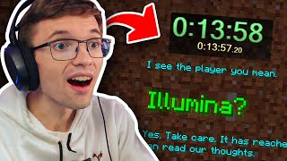 Pro Speedrunner Reacts to NEW Minecraft 1.16 World Record by Illumina
