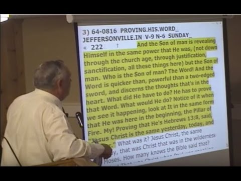 16-1228 - Changing Dispensations (The Bride is the Son of Man) Pt.16 - Samuel Dale